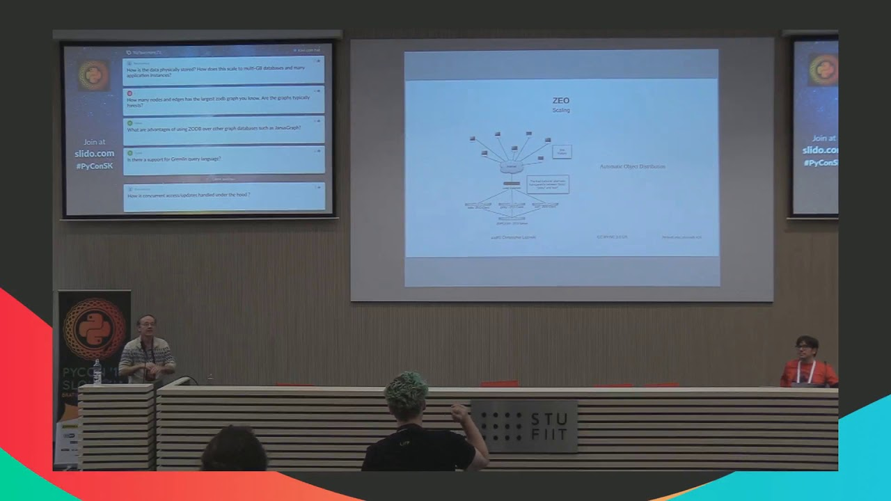 Image from ZODB: The Graph database for Python Developers.