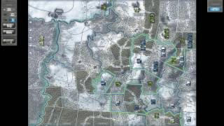 Battle of the Bulge gameplay (Axis side vs Patton)