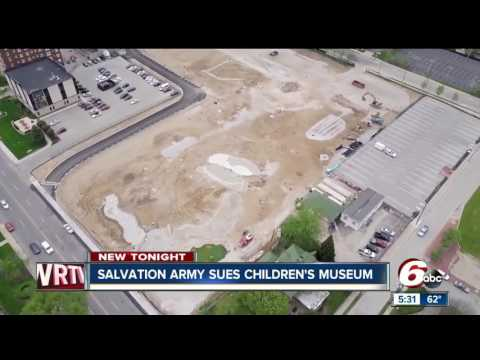 Salvation Army files lawsuit against The Children's Museum of Indianapolis over outdoor expansion