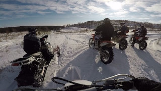 Enduro Melts the Snow