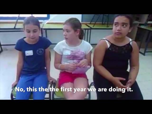 Writers Matter: Empowering Israeli and Palestinian Teens 2016