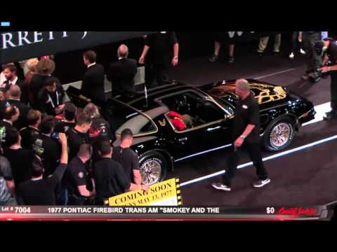 Trans Am from Smokey and the Bandit Auction