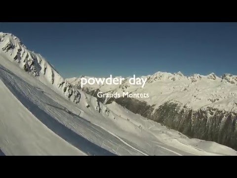 Grands montets  19 apr 2016