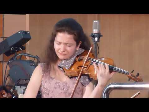 Anna Savkina Soliste, Conc  En D Maj De  Tchaikovski, Gian Luigi Zampieri Direction