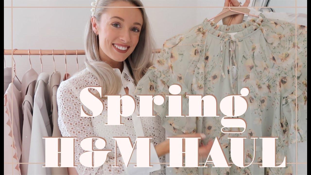 H&M SS19 SPRING FASHION HAUL // Affordable Spring Dresses | Fashion Mumblr