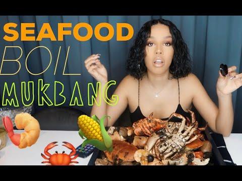 SEAFOOD BOIL MUKBANG
