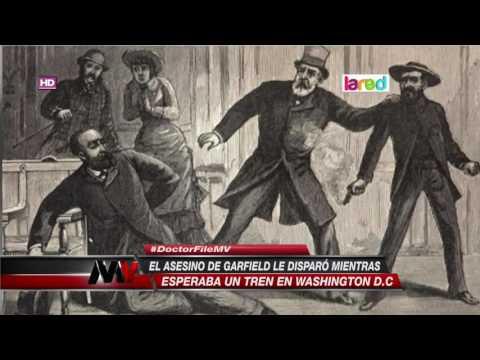 El asesinato de James Garfield fue por este motivo