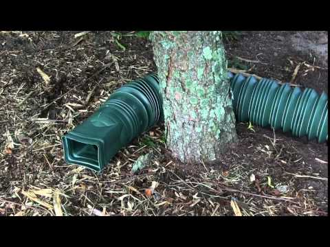 Flex A Spout Downspout Extender Helps Water Drainage Youtube