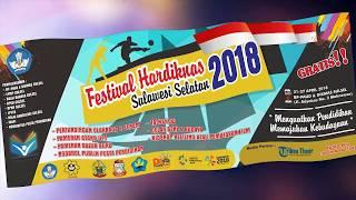 Festival Hardiknas Sulsel 2018 #1