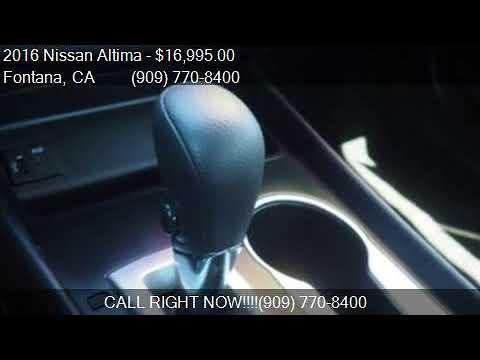2016 Nissan Altima 2.5 4dr Sedan for sale in Fontana, CA 923