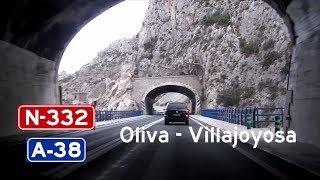 [E] N-332 Oliva - Villajoyosa