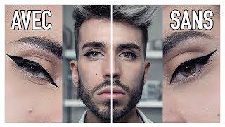 LE LINER PARFAIT POUR PAUPIERE TOMBANTE ! MAKEUP POUR LES NULS | Beautyction