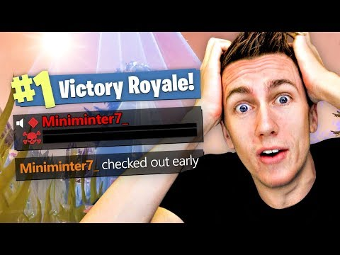 HOW TO WIN BY DYING (Fortnite Battle Royale)
