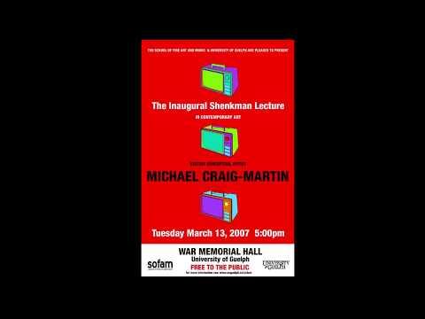Michael Craig-Martin - 2007 Shenkman Lecture in Contemporary Art