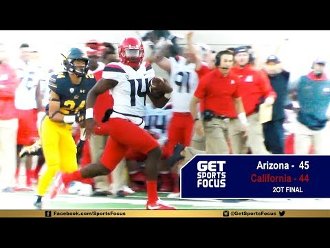 Arizona Wins Thriller Over Cal In 2OT