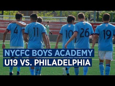 Academy Highlights | NYCFC Boys U19 vs Philadelphia Union