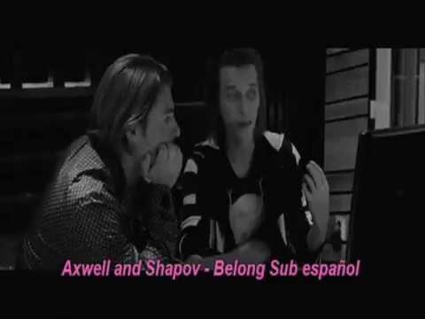 Axwell & Shapov - Belong  - Letra en español (official)