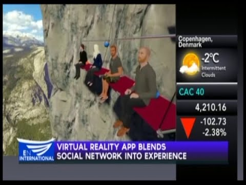 Virtual Reality app blends social network into experience