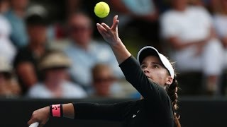 2017 ASB Classic Semifinals| Lauren Davis vs Jelena Ostapenko | WTA Highlights