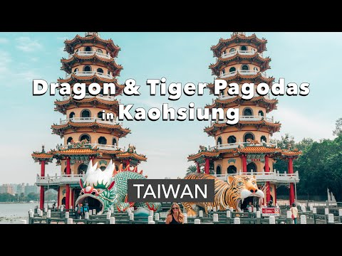 Dragon and Tiger Pagodas - Kaohsiung, Taiwan