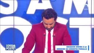 Cyril Hanouna fond en larmes en rendant hommage à un téléspectateur décédé.