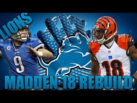 Rebuilding the Detroit Lions! | Madden 18 Franchise Rebuild The White Earl Thomas!?