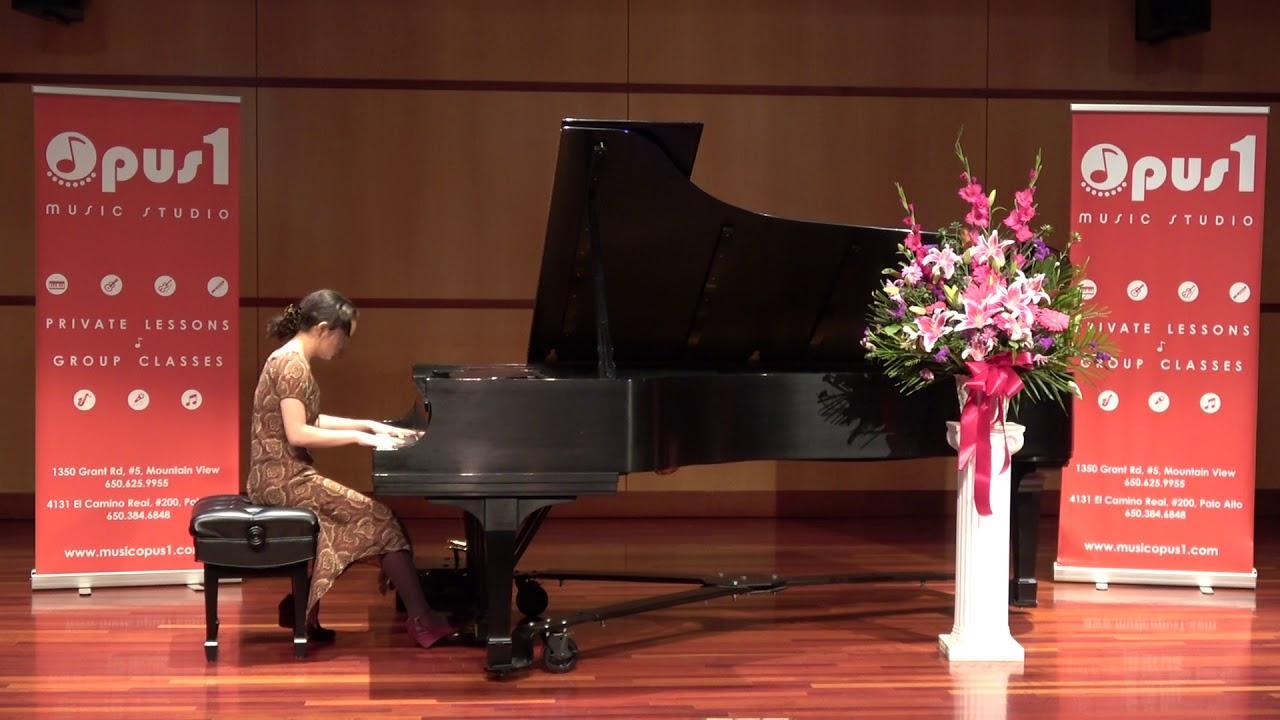 2018 Opus 1 Music Studio Honors Recital - Mehana Ellis , Piano