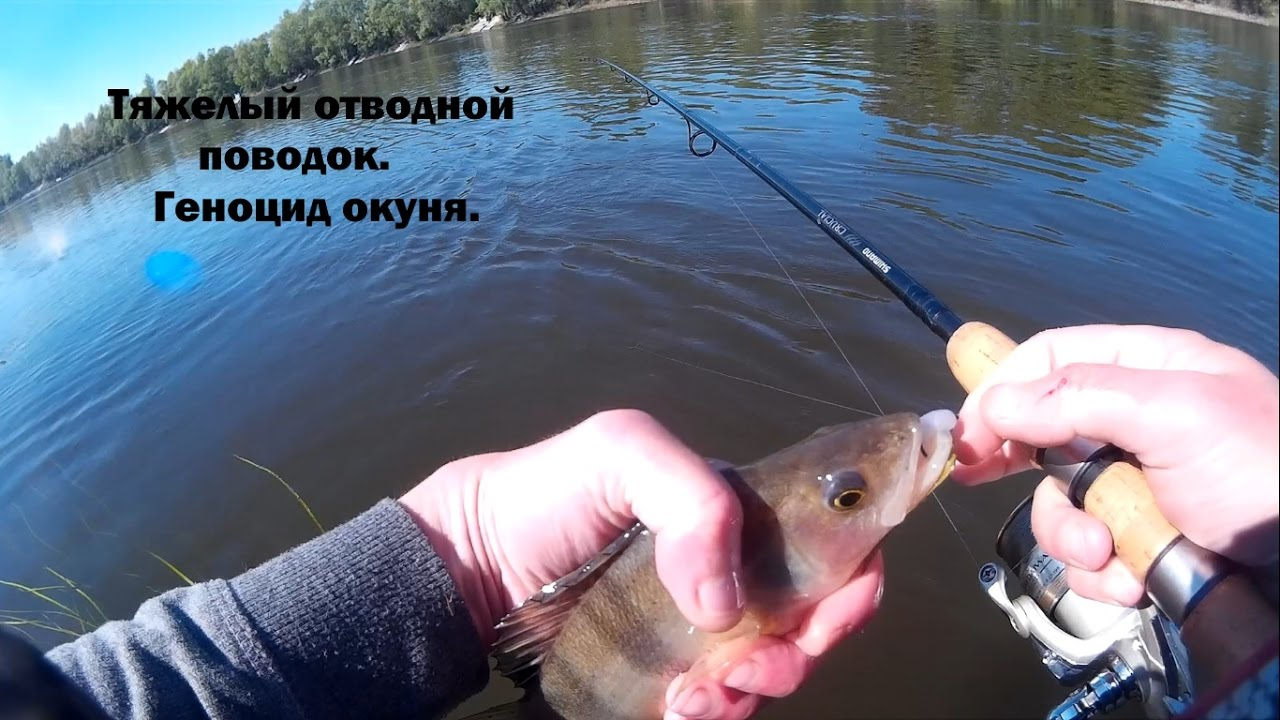 рыбалка на отводной фото