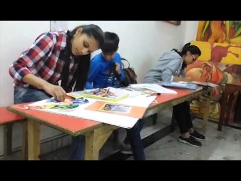 Raghuvansham school of modern art painting classes.