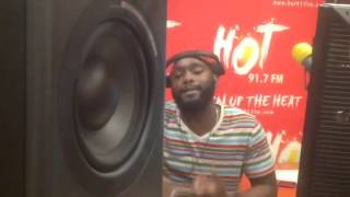 Hot 91.7 FM - JChris Fan Shoutout