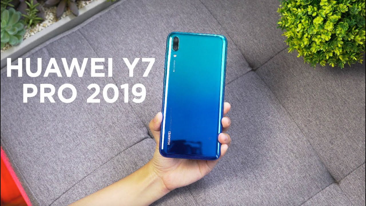 Watch: Huawei Y7 Pro 2019 Unboxing, Hands-on - YugaTech