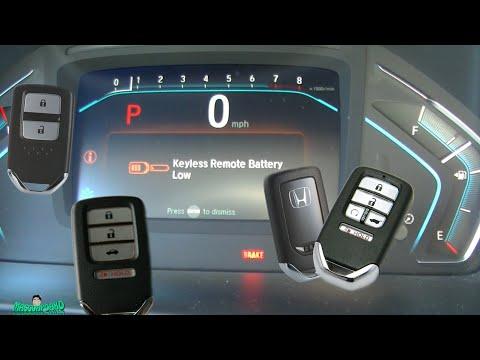 Honda Key FOB Battery Replacement