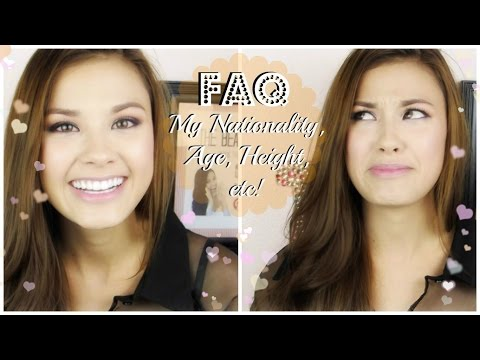 The Beauty Breakdown FAQ: My Nationality, Age, Height, etc! thumbnail