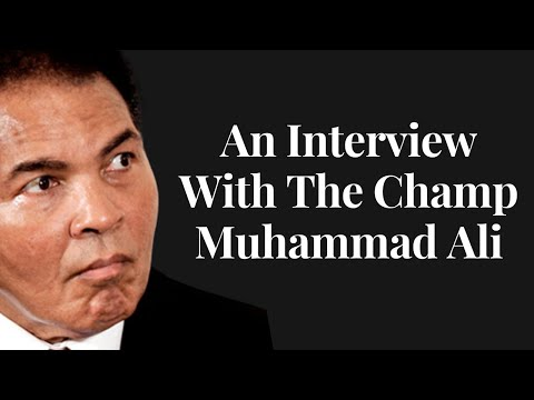 A Rare Interview with  Muhammad Ali