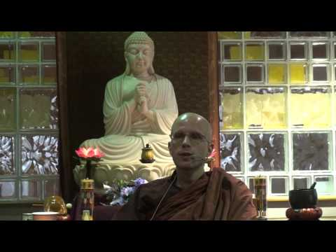 """Ven. Suddhaso """"Daily Application of the 4 Noble Truths"""" - 11/22/2015, part 2"""