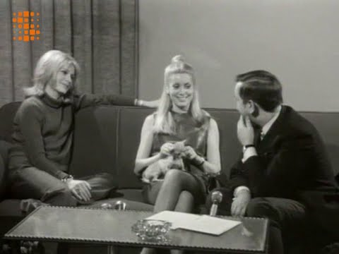 Françoise Dorléac & Catherine Deneuve - Interview (Belgian TV 1967)