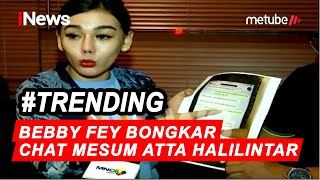 Gambar cover Bebby Fey Bongkar Bukti Percakapan Mesum Atta Halilintar - iSeleb 09/09