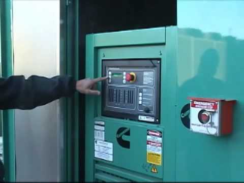 Cummins Emergency Generator Training  YouTube
