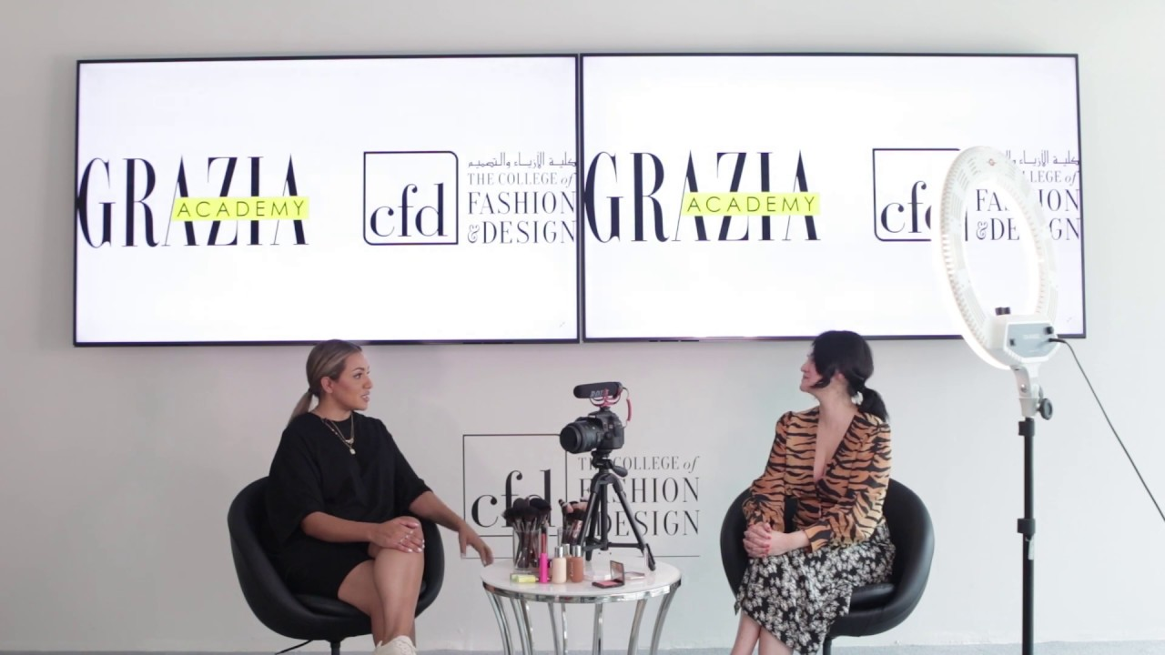 The Grazia Academy At Cfd Dubai Make Up For Video Tutorials With Nina Ubhi On 21 September 2019 Youtube