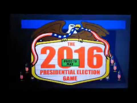 2016 Presidential Election Game Demonstration