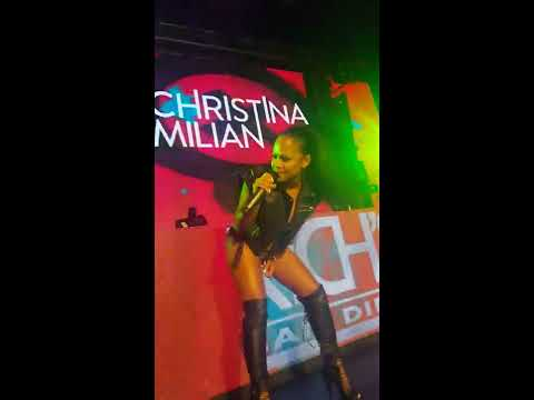 Christina Milian at Rich's San Diego