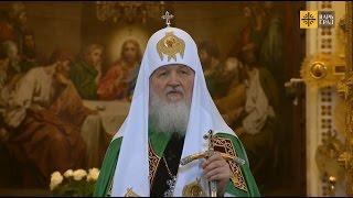 Церковь и политика: «Никогда, наше дело совсем иное»(Проповедь Святейшего Патриарха Кирилла в праздник Входа Господня в Иерусалим 5 апреля 2015 года. http://www.tsargrad.tv..., 2015-04-06T12:41:00.000Z)