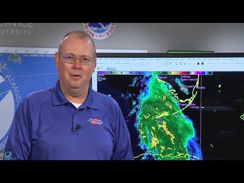 National Hurricane Center discusses Tropical Storm Elsa as it nears Florida's west coast