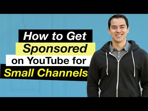 How to get Sponsored on YouTube for Small channels — 5 Tips