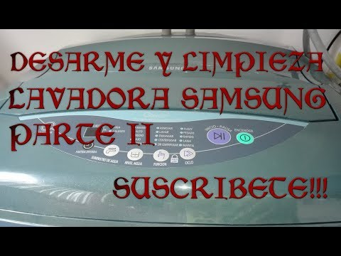 Descargar Video MANTENIMIENTO LAVADORA SAMSUNG PARTE ii