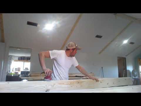 DIY Faux Wood Beams Part 2