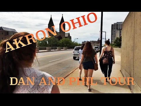 AKRON, OHIO VLOG - Dan and Phil (absolutely NO spoilers!)