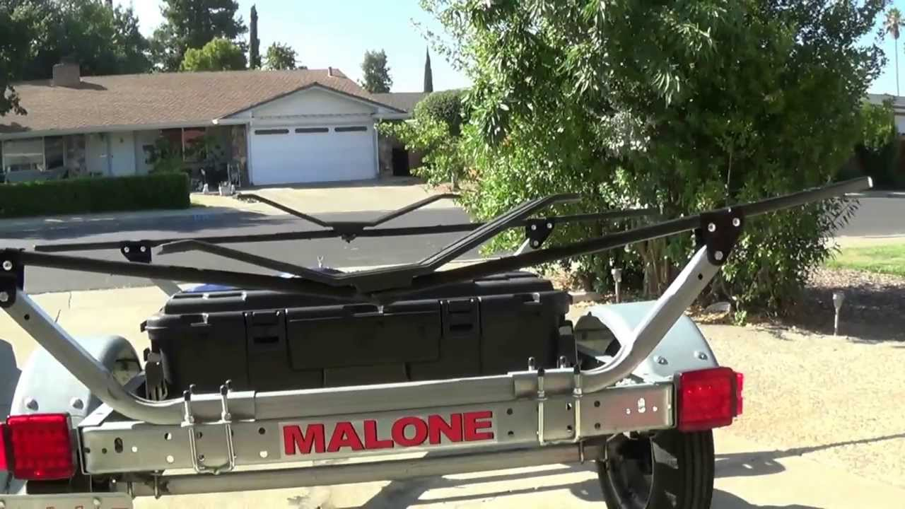 Malone Kayak Trailer Youtube