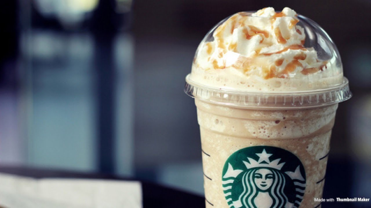 How To Make A Starbucks Caramel Frappuccino One Of Starbucks Most Popular Drink Youtube