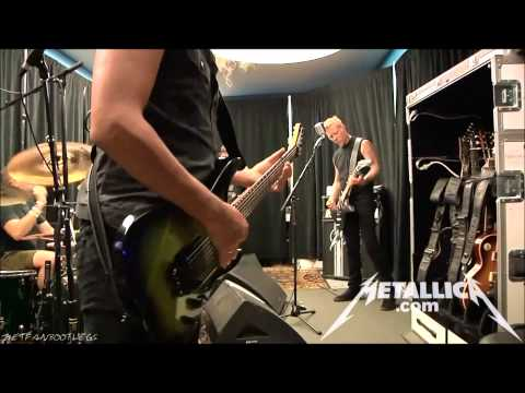 Metallica  Blitzkrieg in Tuning Room Mexico City August 6, 2012 HD